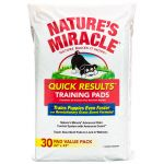 "8in1 Natures Miracle QUICK RESULTS Пеленки приучающие ""быстрый результат"" для собак 30 шт"